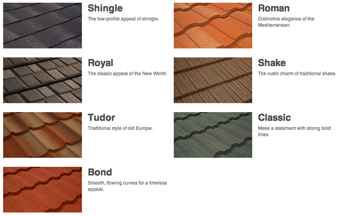 Metal Tile Roofing From Roofing Systems
